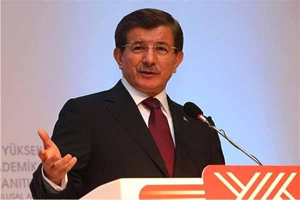 Başbakan Davutoğlu'nun katıldığı etkinlikte yumruklu saldırı