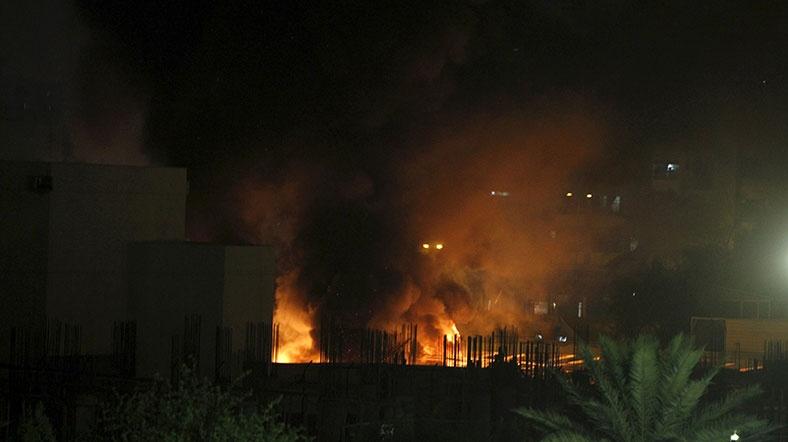 Bağdat'ta Babil ve Cristal otellerine saldırı
