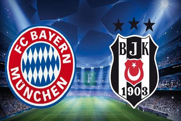 Bayern Münih Beşiktaş maçı ne zaman saat kaçta ve hangi kanalda