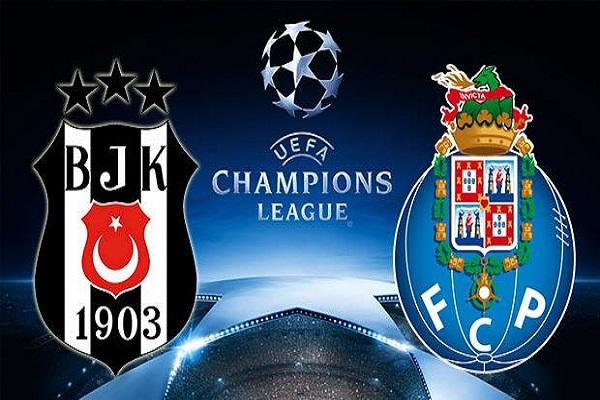 Beşiktaş Porto maçı canlı yayın bilgileri ve muhtemel 11'ler