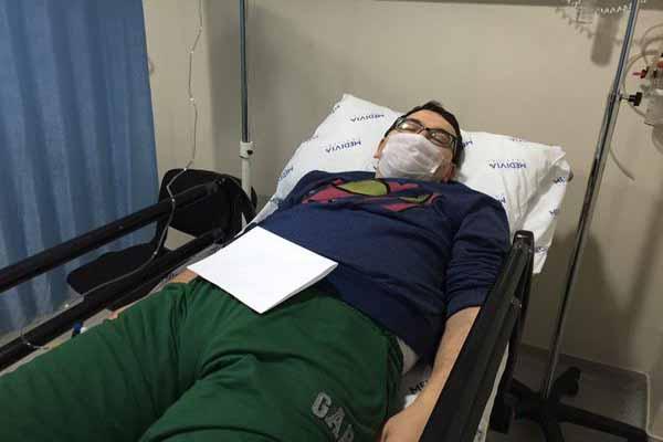 Spor spikeri Emre Tilev'e grip teşhisi