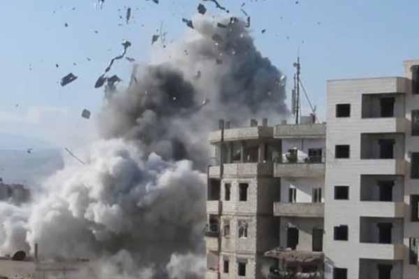 Halep'te düzenlenen saldırıda 54 kişi öldü