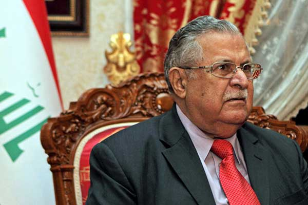 Irak eski Cumhurbaşkanı Celal Talabani vefat etti