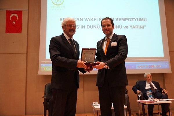 Ata Atun Erbakan Vakfı'nın düzenlediği'Kıbrıs'ın Dünü, Bugünü, Yarını' konferansında