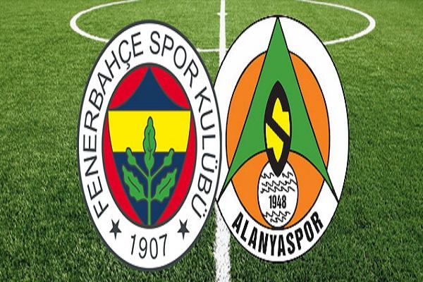 Fenerbahçe evinde Aytemiz Alanyaspor'u konuk ediyor