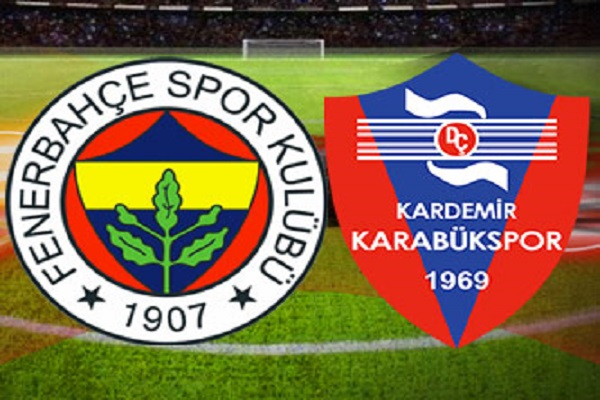 Fenerbahçe Karabükspor maçı canlı yayın bilgileri