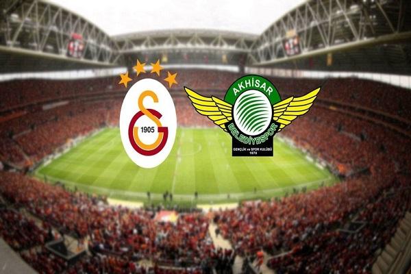 Galatasaray Akhisarspor maçı canlı yayın bilgileri