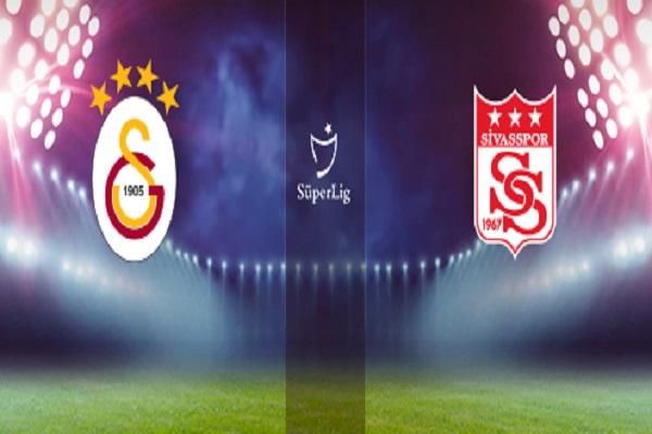 Galatasaray Demir Grup Sivasspor maçı canlı yayın bilgileri