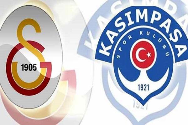 Galatasaray Kasımpaşa maçı ne zaman ve saat kaçta başlayacak