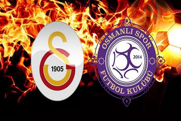 Galatasaray Osmanlıspor maçı ne zaman ve saat kaçta başlayacak