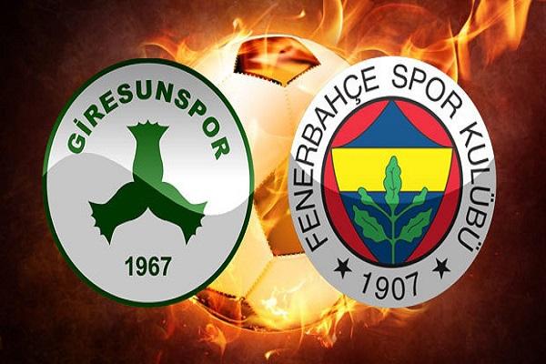 Giresunspor Fenerbahçe maçı saat kaçta ve hangi kanalda