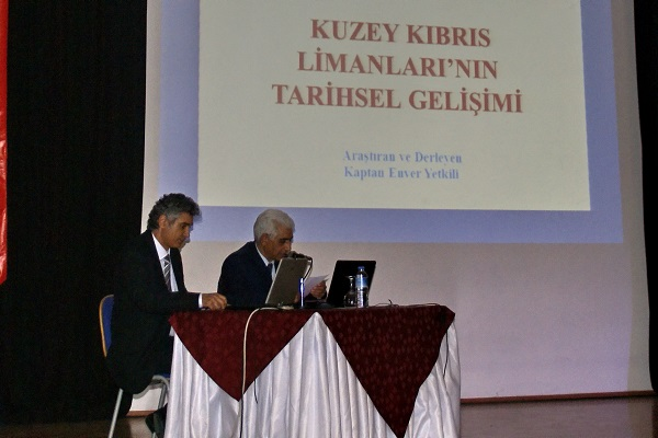 Girne Üniversitesi Kuzey Kıbrıs Limanları Tarihçesi Semineri'ni Gerçekleştirdi