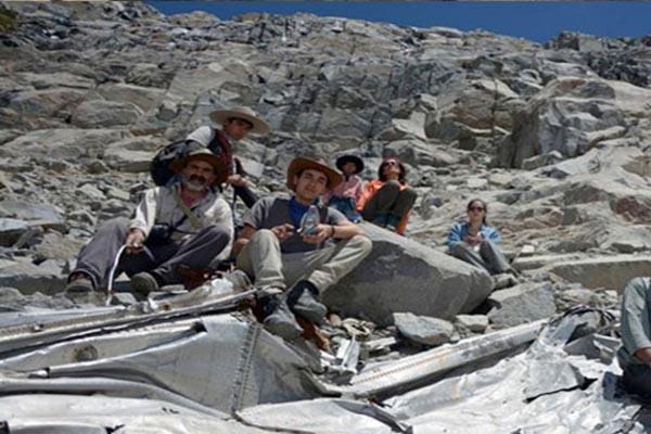 Şili'de düşen uçak 54 yıl sonra bulundu