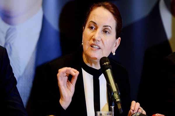 MHP'li Meral Akşener'den çarpıcı sözler