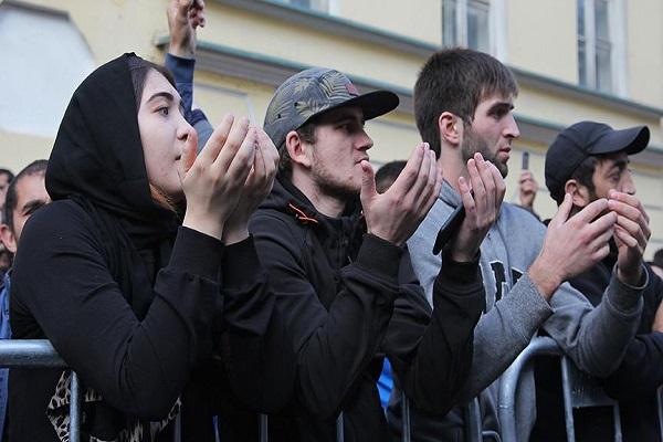 Arakan'da yaşananlar Moskova'da protesto edildi