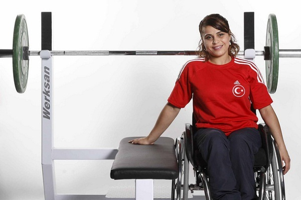 Nazmiye Muslu is aiming to break records in London