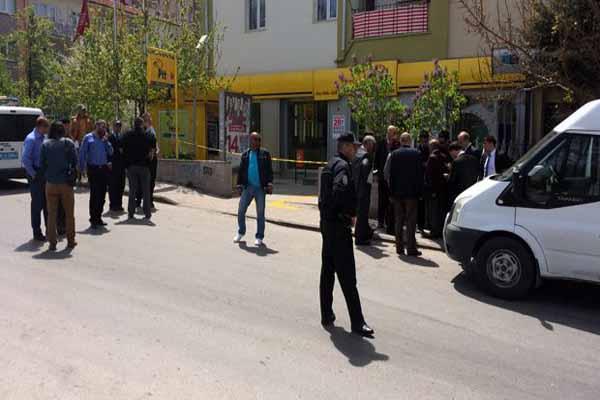 Ankara'da PTT şubesinde silahlı saldırı dehşeti