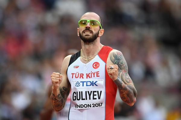 Ramil Guliyev 200 metrede birinci oldu