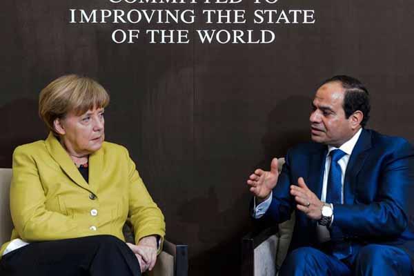 Abdulfettah es-Sisi ile Angela Merkel görüşecek