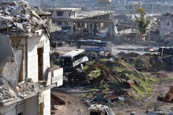 Halep'ten tahliye işlemleri devam ediyor