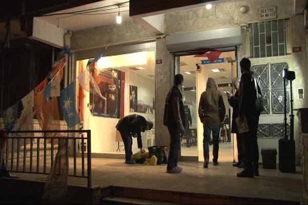 Ak Parti bürosuna silahlı saldırı düzenlendi