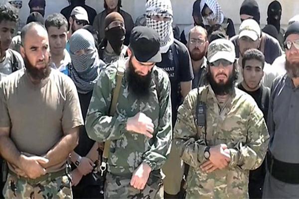 IŞİD'e koalisyon uçaklarından ağır darbe