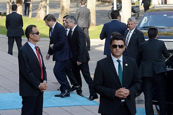 Başbakanlık Merkez Binası'nda Çözüm Süreci Toplantısı Başladı