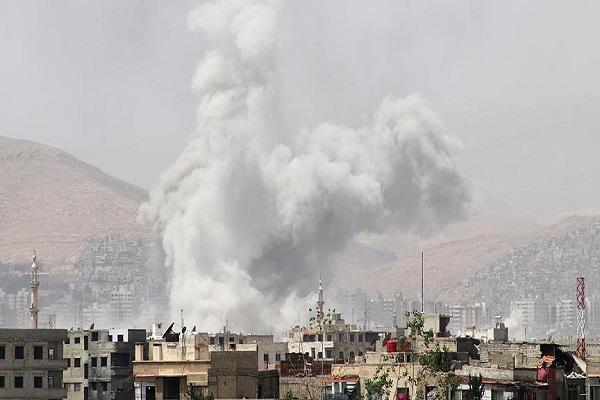 Esad rejimi sivilleri hedef aldı ölü ve yaralılar var