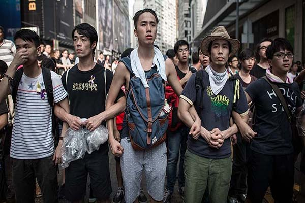 Hong Kong eylemleri iki haftadır devam ediyor