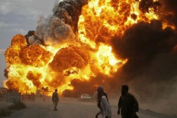 Bağdat'ta bomba yüklü araçla intihar saldırısı düzenlendi ölüler var
