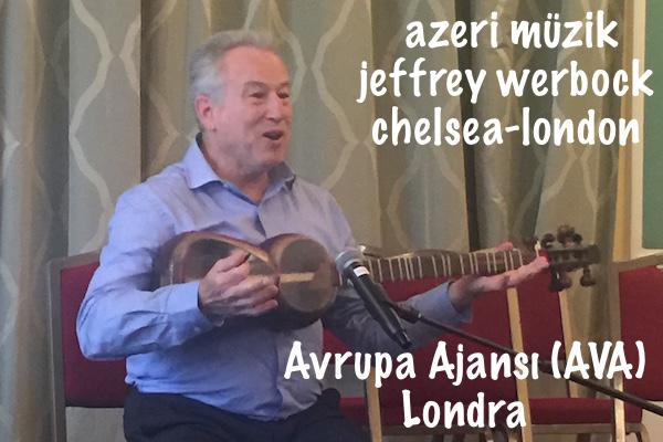 Azerbaycan Müziği Tar, Kamancha, Oud ve Jeffrey Werbock