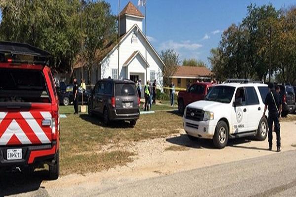 Teksas'ta kilise kana bulandı çok sayıda ölü ve yaralı var