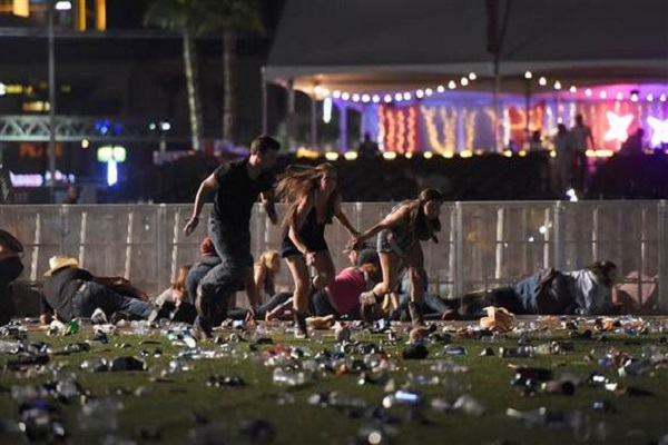 Las Vegas'ta saldırı en az 20 ölü 100 yaralı var