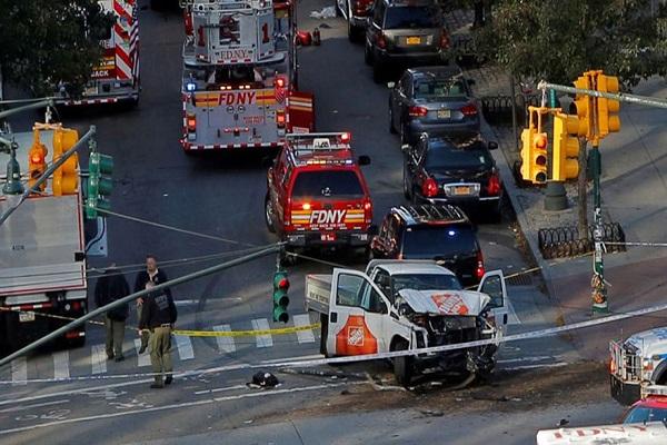 New York'ta dehşet anları 8 ölü 15 yaralı var