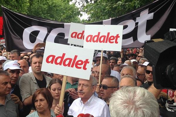CHP liderinin başlattığı Adalet Yürüyüşünde bugün yedinci gün