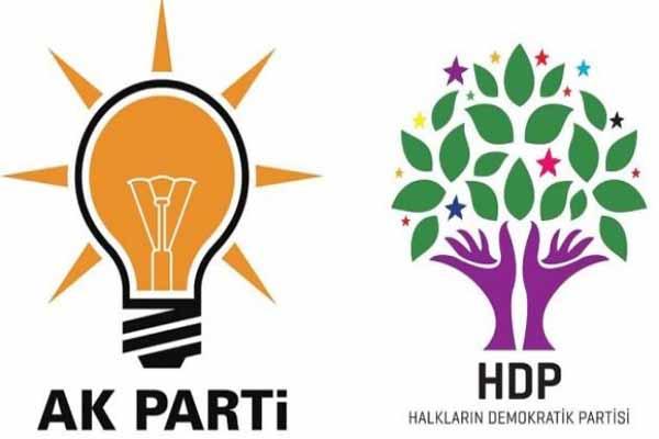AKP ve HDP'nin Diyarbakır mitingi çakıştı