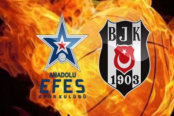 Anadolu Efes Beşiktaş Sompo Japan maçı ne zaman ve saat kaçta başlayacak