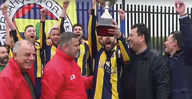 Türk Toplumu Futbol Federasyonu 2. Lig Şampiyonu Fenerbahçe