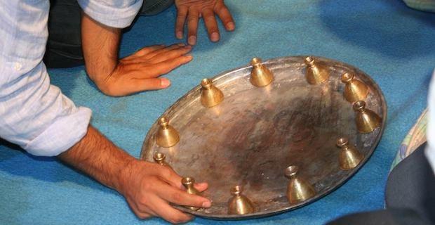 Ramazan'da Türkmenlere has Sini Zarf oyunu