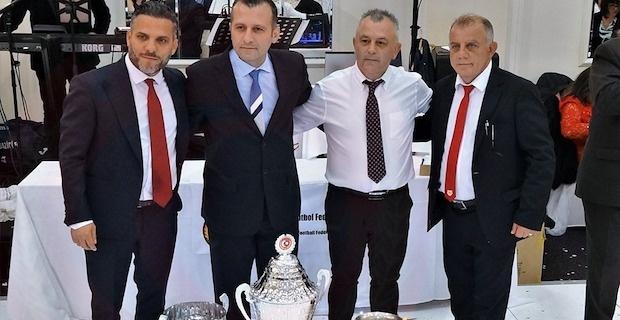 Türk Toplumu Futbol Federasyonu'ndan muhteşem gala