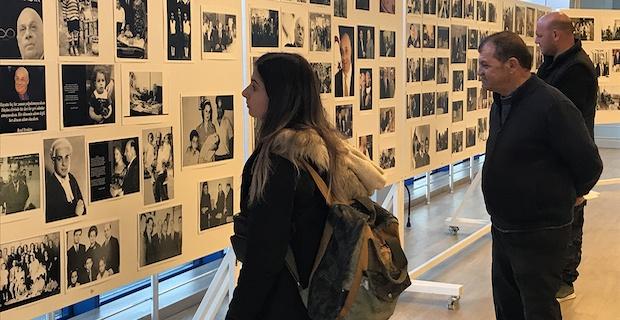 KKTC'nin Kurucu Cumhurbaşkanı Rauf Raif Denktaş, Ercan Havalimanı'nda anılıyor