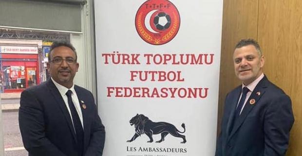 İngiltere Türk Toplumu Futbol Federasyonu Güney Londra Binası açıldı