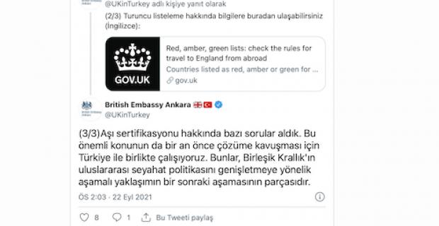 İngiltere Türkiye'de yapılan aşıları neden tanımıyor ? Otel yerine evde karantina ! İngiltere'nin şeffaf olmayan kararları !