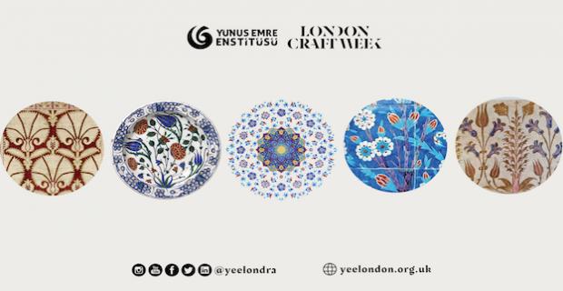 Londra El Sanatları Haftası, Türk Tezyin Sanatında Çiçek Desenleri Atölyeleri