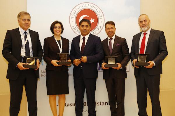 Avrupalı Türk Markalar Birliği Avrupa'dan katılan işadamları ödüllendirdi
