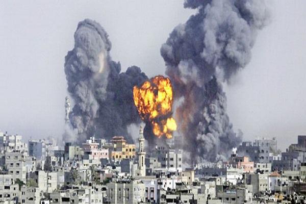 İsrail ordusu Gazze'ye top ateşi açtı