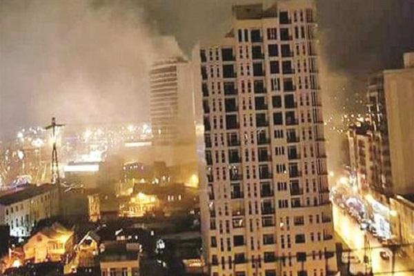 Batum'da çıkan yangında 12 kişi can verdi