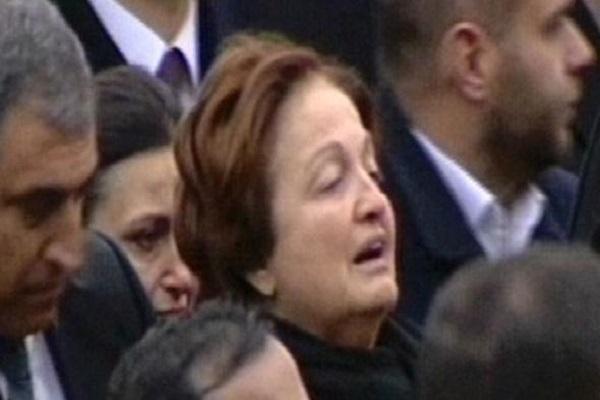 Acılı anne oğlu Yavuz Yılmaz'ı gözyaşlarıyla uğurladı