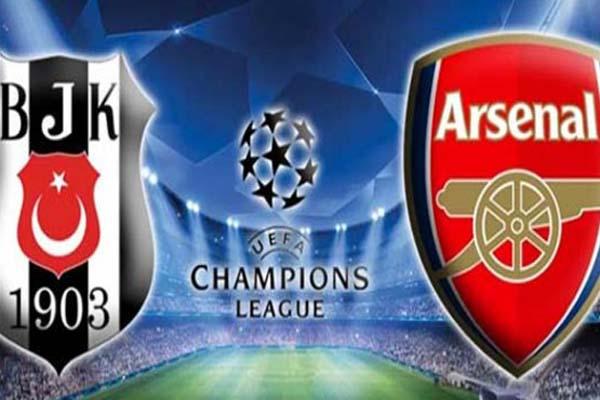 Arsenal Beşiktaş maçı ne zaman, hangi kanalda