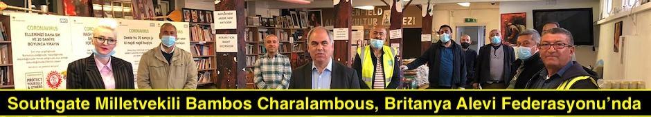 Southgate Milletvekili Bambos Charalambous, Britanya Alevi Federasyonu'nda